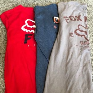 Fox / O'Neill tees
